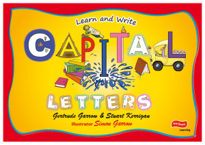 Learn and Write Capital Letters